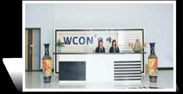 ABOUT US 关于维峰 WCON Group was found in May of 1999, specializes in operating businesses of precise Board to Board, Wire to board connectors, Solar photoelectric connector, Industrial Terminal blocks