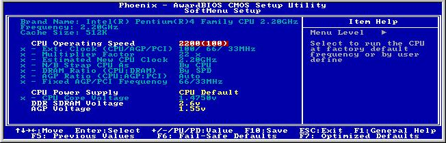 3-2 Chapter 3 3-1. SoftMenu Setup The SoftMenu utility is ABIT s exclusive and ultimate solution in programming the CPU operating speed.