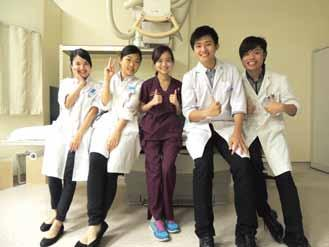 Some students who have gone overseas on an exchange or placement programme shared their thoughts with Health News.