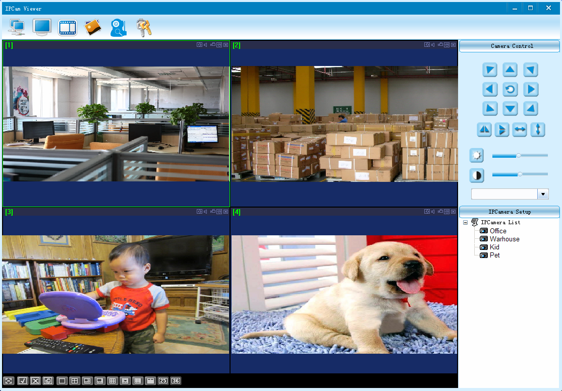 6. Access the Camera by PC 6.1 Install the software IPCam Viewer (you can download it from http://www.mustcam.
