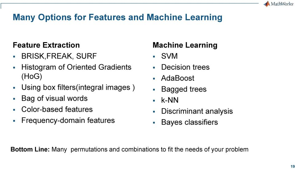 Frequency-domain features Machine Learning SVM Decision trees AdaBoost Bagged trees k-nn Discriminant
