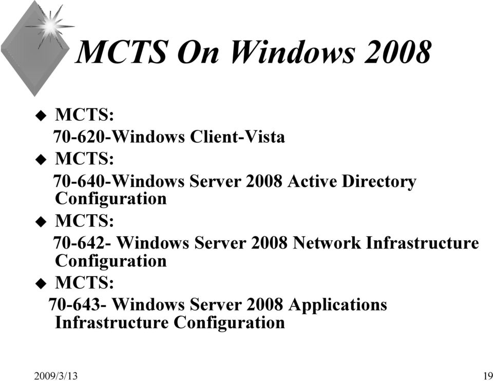 70-642- Windows Server 2008 Network Infrastructure Configuration