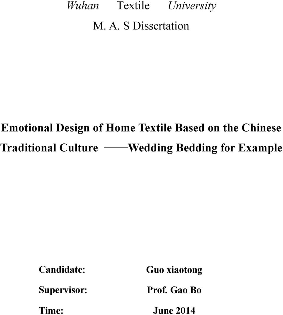 Based on the Chinese Traditional Culture Wedding