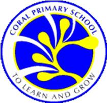 Coral Primary School Parental Reply/Acknowledgement Form (To be submitted to Form Teacher by Friday, 3 July) Name of Student: Name of Parent/Guardian: Class: P / Contact Number: Please tick ( ) the