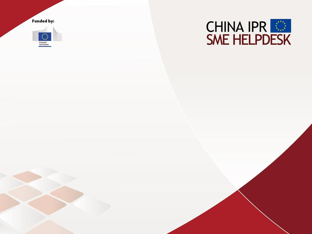 EU SMEs & IPR in China Lessons Learned Simon Cheetham
