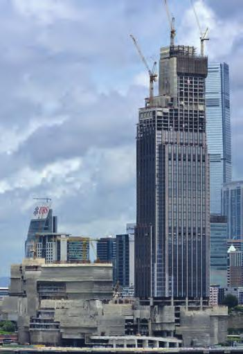 View from Tsim Sha Tsui East (Source: New World Development Company Limited) 图5. 从尖沙咀东部角度拍摄 来源 新世界发展有限公司 2009.