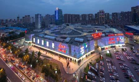 retail podium. The mall was awarded several green and building awards 4 Star Mall Shenyang Plaza Star Mall, the US$250 million joint project was opened in 2014.