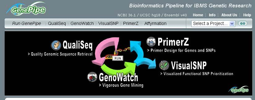 Primer Z: Introduction PrimerZ is a high throughput web-based system for designing