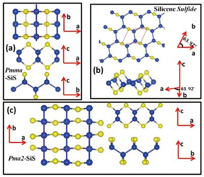 TWO-DIMENSIONAL SIS LAYERS ARE PREDICTED TO HAVE SUPERB ELECTRONIC AND OPTOELECTRONIC PROPERTIES Converting solar energy into electricity or chemical energy with high efficiency and low cost plays an
