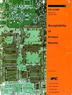 IPC-A-600 Revision E Acceptablility of Printed