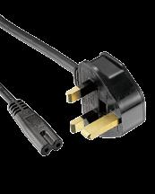 Available with Cords Approvals QP-015 EN/IEC 60320 C14 EN/IEC 60320-1 C13