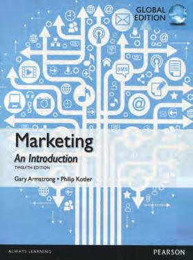 and Relationships PART II: UNDERSTANDING THE MARKETPLACE AND CUSTOMER VALUE Ch 3 Analyzing the Marketing Environment Ch 4 Managing Marketing Information to Gain Customer Insights Ch 5 Understanding