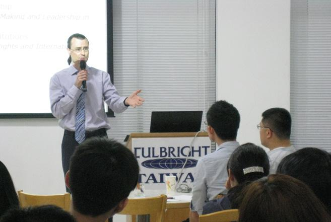 Fulbrighters from Taiwan, China, Macau and Hong Kong during the