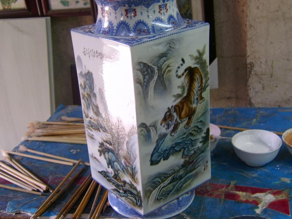 7.4.2.2.2 Qing Dynasty Stream Porcelain from Arts Porcelain Factory and International Porcelain Fair 7.