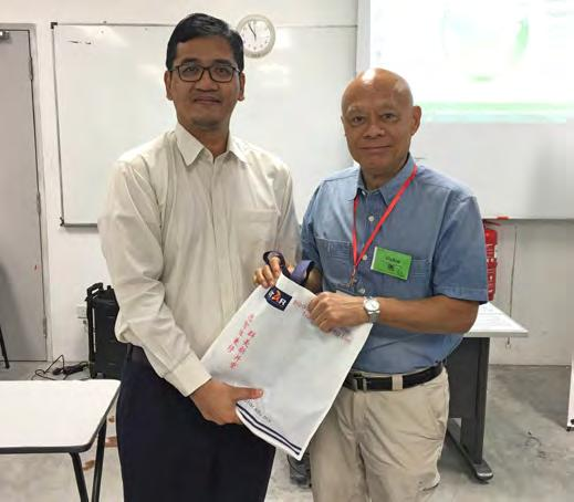 UTAR Vice President for R&D and Commercialisation Prof Ir Dr Lee Sze Wei said, This is a milestone for UST and UTAR as it is the first time we have held a workshop on photonics and advanced materials.