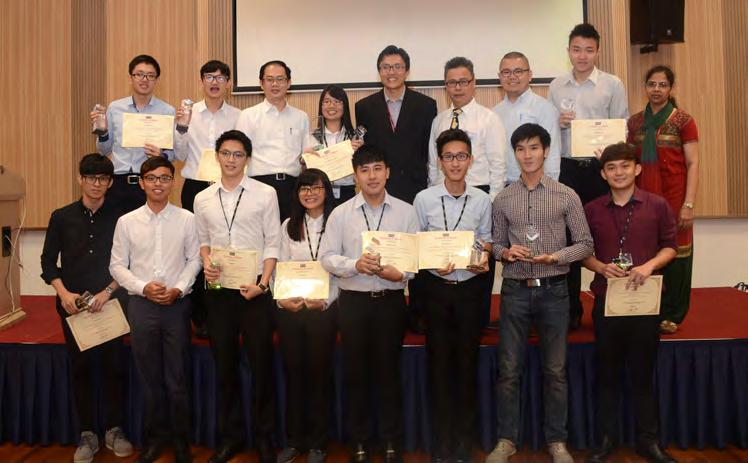 14 In Search The Lee Kong Chian Faculty of Engineering and Science (LKC FES) organised the second ever Final Year Project (FYP) Poster Competition on 25 August 2016 at Sungai Long Campus.