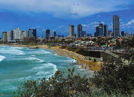 Tel-Aviv dominate Israel s economic life with almost one-sixth of all jobs in Israel are located in the city and currently employs forty percent of national employment in finance and 25 percent of
