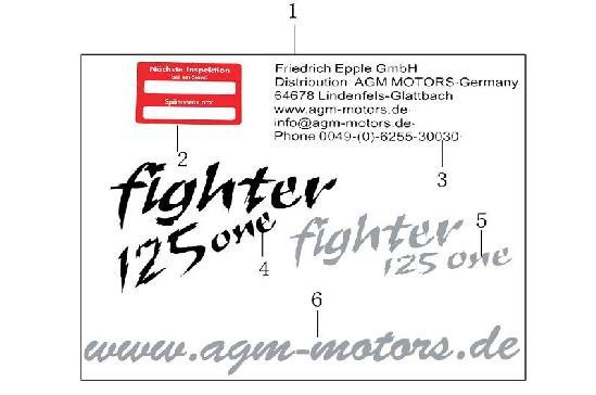 图 Dekorsatz Fighter one Draft Alte Neue