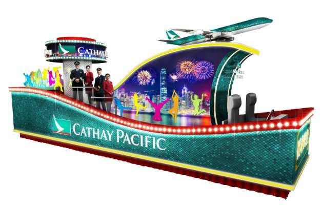 2014 Cathay Pacific International Chinese New Year Night Parade Float Descriptions 2014 國泰航空新春國際匯演之夜 花車簡介 Cathay Pacific Airways Limited 國泰航空公司 Name / Theme of Float: Cathay Pacific flies high with