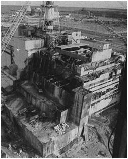 Causes of Chernobyl No containment building Poor reactor design (unsafe) Inserting control rods initially increased reactor energy generation Operators were careless & violated plant procedures