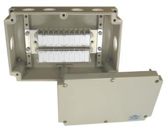 BOXTM-2003 (IP65) This model is the box only Therefore, you can install your terminal block,