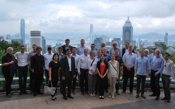Meeting With RICS President 与皇家特许测量师学会主席会面 Miss Amanda Clack, RICS President, visited Hong Kong in September and Chairman Mr.