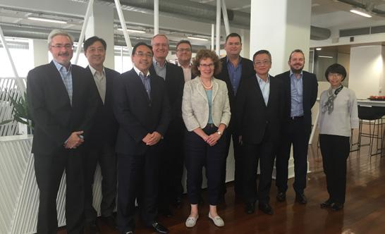 Global Board Meeting 2016 全球董事会会议 2016 The RLB Global Board meeting was held in Adelaide, Australia on 5-6 October 2016.